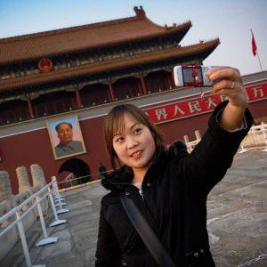 Himmelska Fridens torg i Peking, Kina Foto: Kjell Fredriksson
