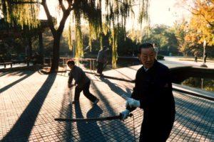 Ritanparken i Beijing 6/15, Tusen tranors flykt Foto: Kjell Fredriksson